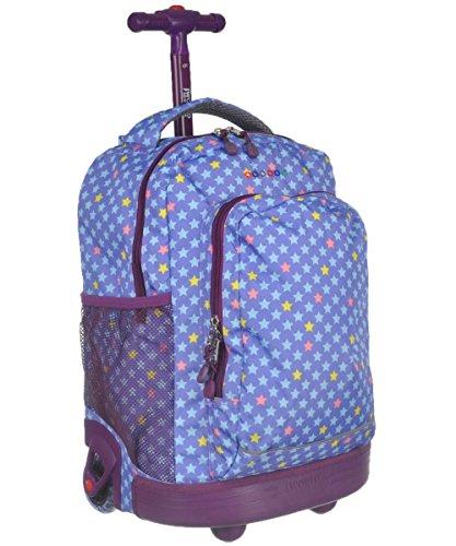 J World New York Sunny Rolling Backpack Backpack   Rolling Backpack Shop f290d6c4b9